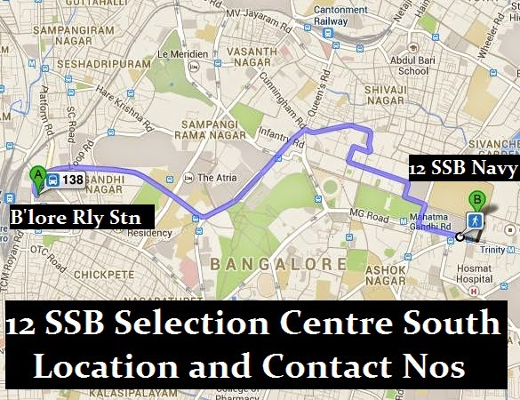 12 SSB location and contact numbers