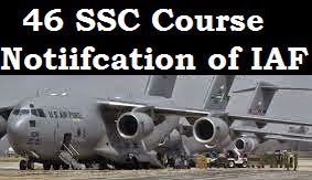 46 SSC Meteorology course notification of IAF