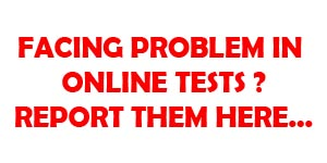 Report online test errors here