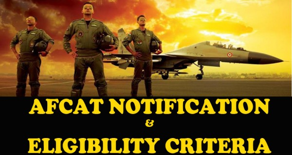AFCAT Notification and Eligibility Criteria