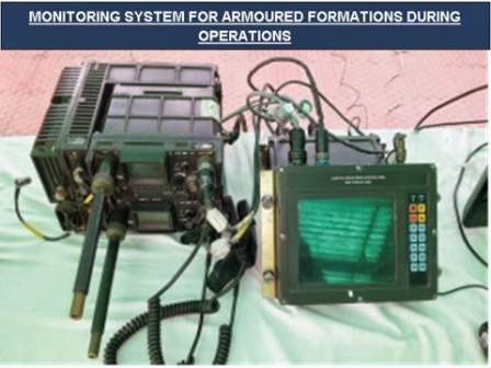 Armored formation monitoring system