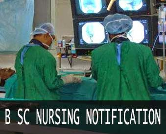 B Sc nursing and midwifery course notification