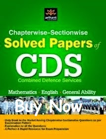 Best book for CDS solved question papers