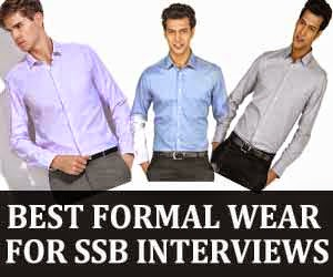 Best formal dress for SSB interview