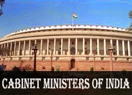 Cabinet Ministers as on 26 May 2014