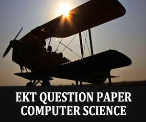 EKT Computer Science Question Paper