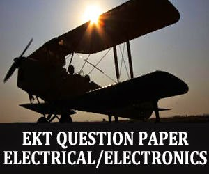 EKT Electrical Electronics Question Paper