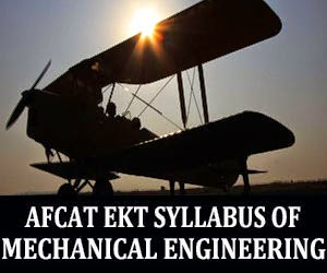 EKT Syllabus for mechanical engineers