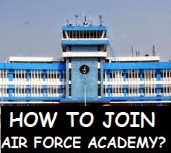 How to join Air Force Academy of IAF