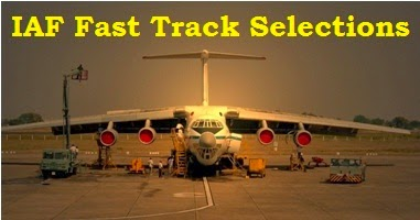 IAF Fast Track Selections at Chandigarh Coimbatore