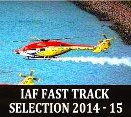 IAF fast track selections