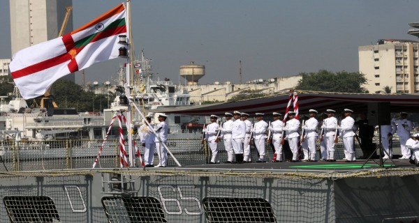 INS Chennai commissioning ceremony