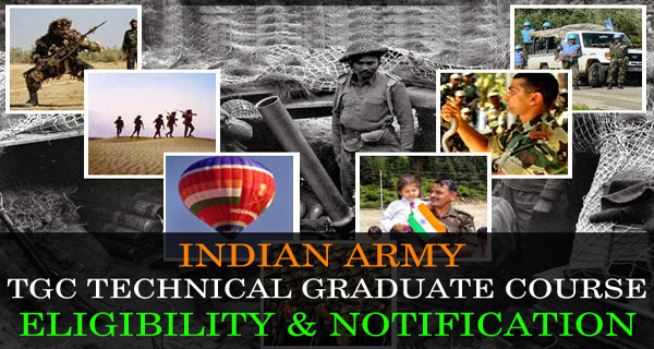 Indian Army TGC notification and salary