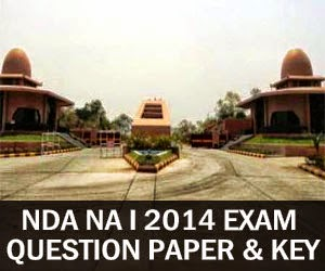 NDA 2014 Question Paper with Answer Key