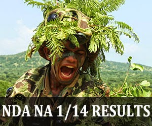 NDA NA 1 2014 results by UPSC