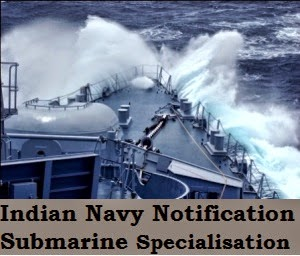 Navy Submarine SSC Course Notification