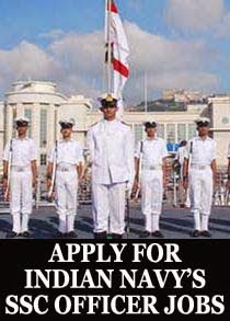 Navy executive and technical SSC officers notification