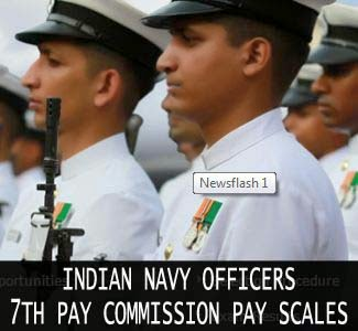 Navy officers pay - 7th pay commission