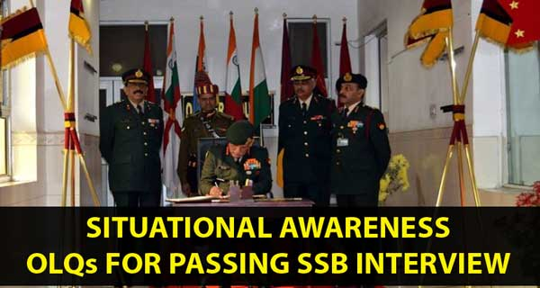Situational Awareness OLQ for passing SSB interview
