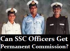 Permanent commission for SSC officers
