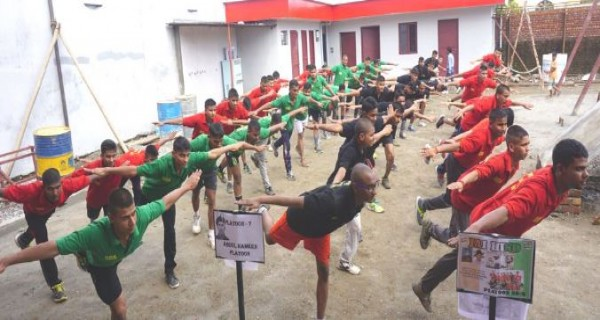 Physical training at Doon Defence Academy