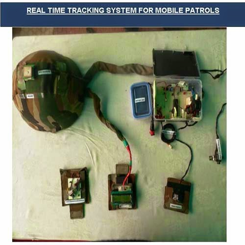 Real time tracking system by Major Ajay rathore