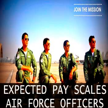 Expected 7th pay commission pay scales of Indian Air Force