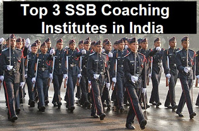 Top 3 best SSB coaching academies in India