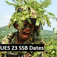 UES 23 SSB dates of Allahabad selection board