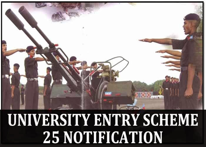 UES 25 course Notification