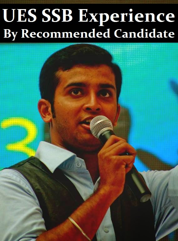 UES SSB experience by recommended candidate