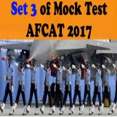 Online Mock Test for AFCAT 2017 exam Set 3