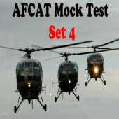 AFCAT Mock Test Set 4
