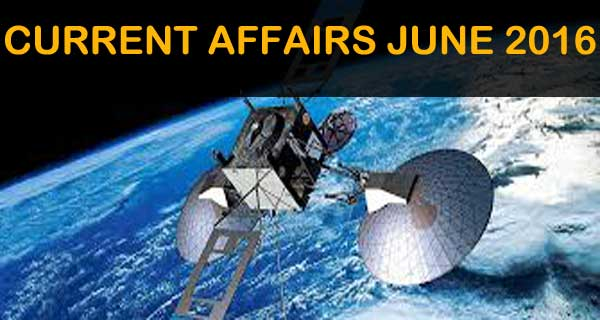 Online mock test for June 2016 current affairs