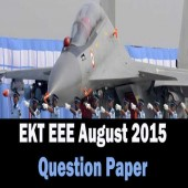 EKT Electrical and Electronics question paper of August 2015