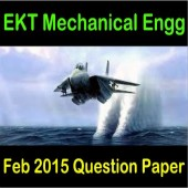 EKT 1 2015 Mechanical Question Paper