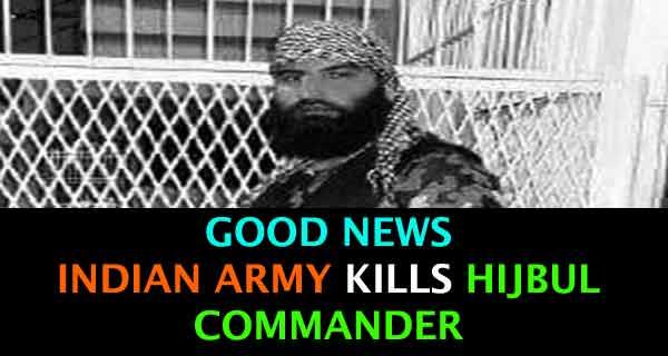 Burhan Wani's Successor, Sabzar Ahmed Bhat Killed by the Indian Army
