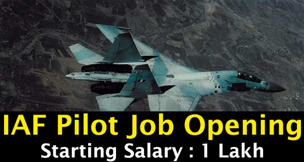NCC Special Entry Notification to become IAF pilot
