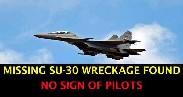 Missing Su-30 MKI Fighter Jet Found but No Sign of the Two Pilots