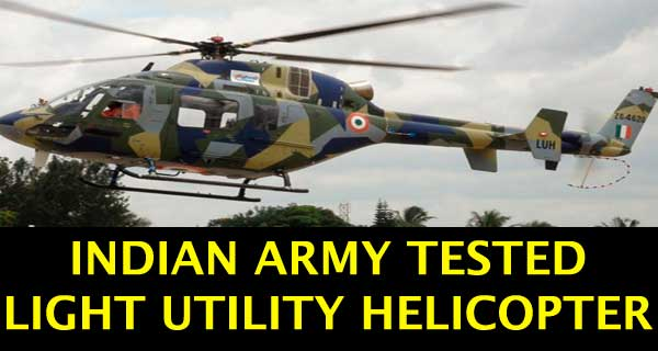 2nd Prototype of Light Utility Helicopter Tested Successfully
