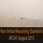 AFCAT August 2015 Non Verbal Reasoning Question Paper Practice