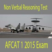 Non verbal reasoning questions of AFCAT 1 2015 exam