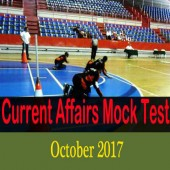 Online Current Affairs Mock Test - October 2017