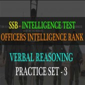 Online OIR Practice Test Verbal Reasoning Set - 3
