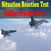 Situation Reaction Test Online Practice Set 1