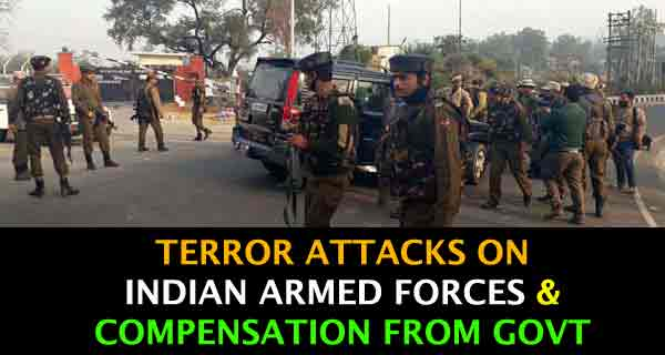 Analysis of Terrorist Attacks on Armed Forces and Government Compensation Since 2014